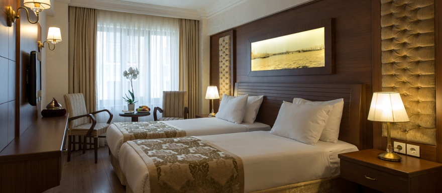 Double Room with Twin Bed | Yigitalp Hotel Istanbul ...